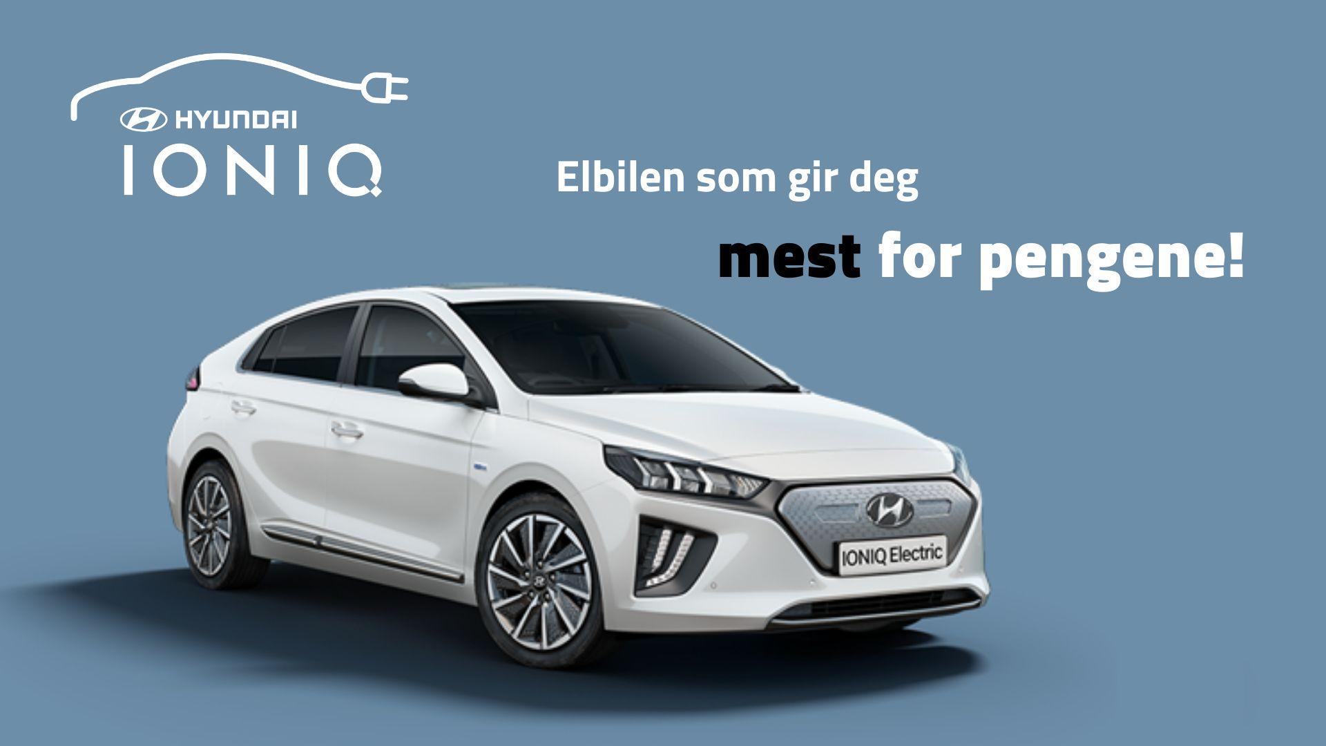 Hyundai IONIQ Electric 32% lengre rekkevidde   Hyundai